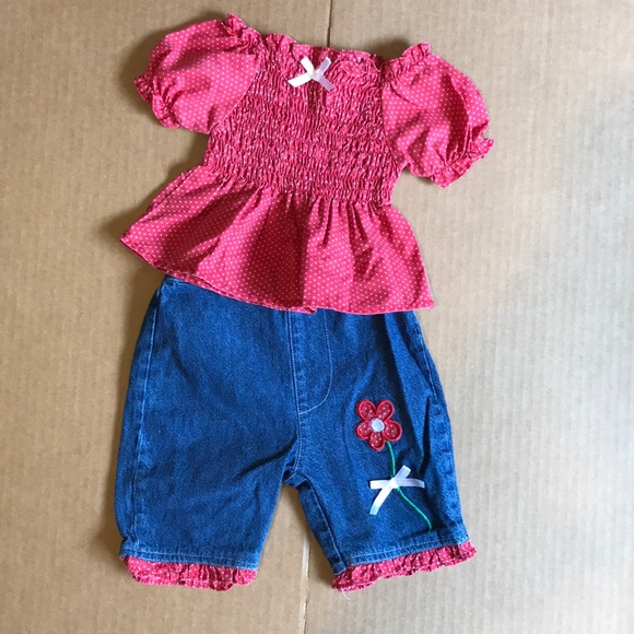 matching sets girls two piece adorable sat size 0 to 3 months